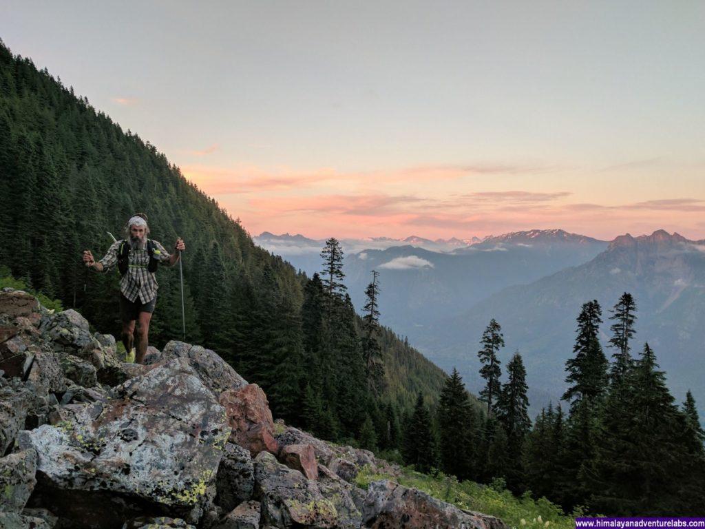 Sunset on the Ridge to Teneriffe