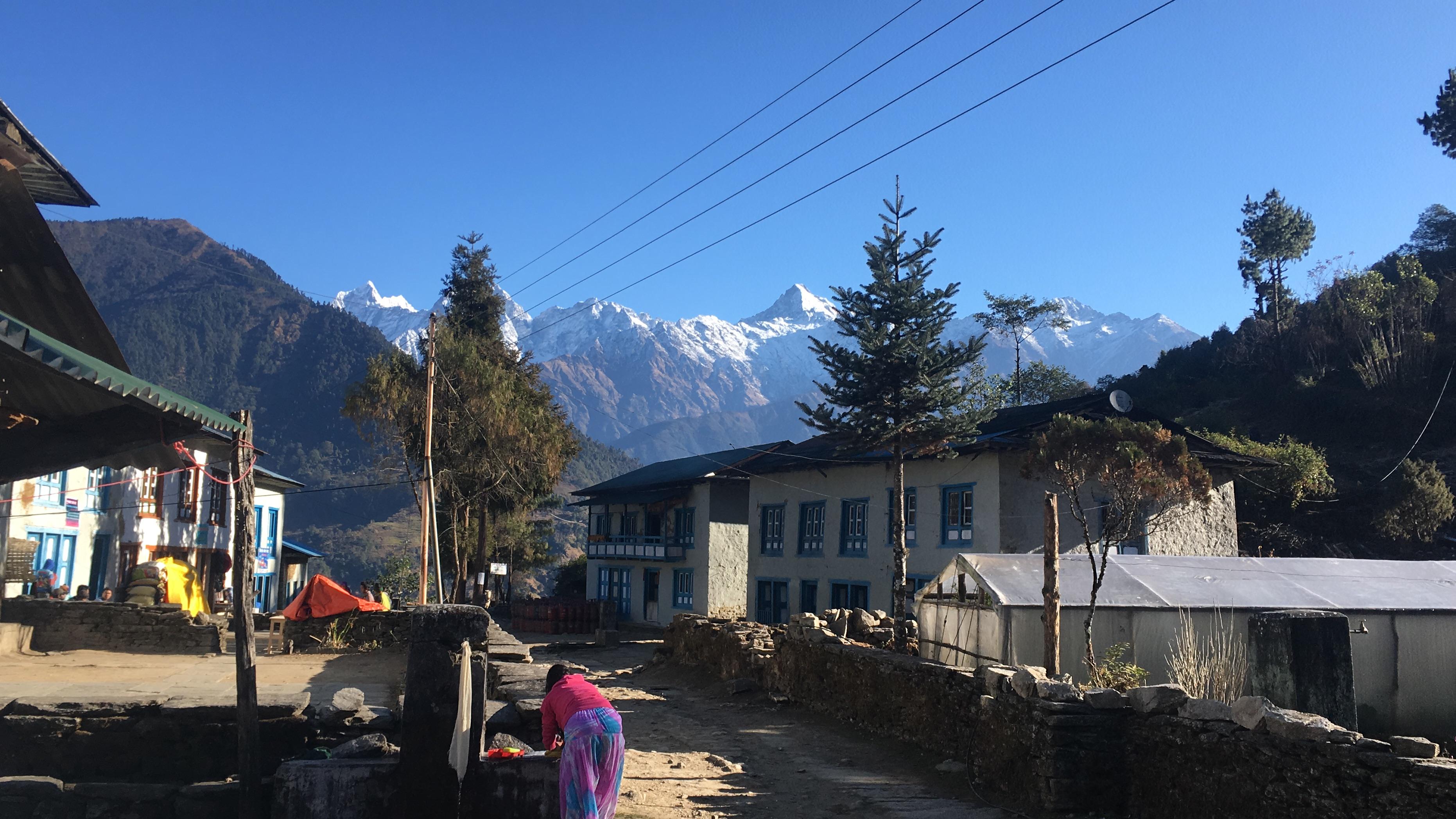 Village life in Nunthala.