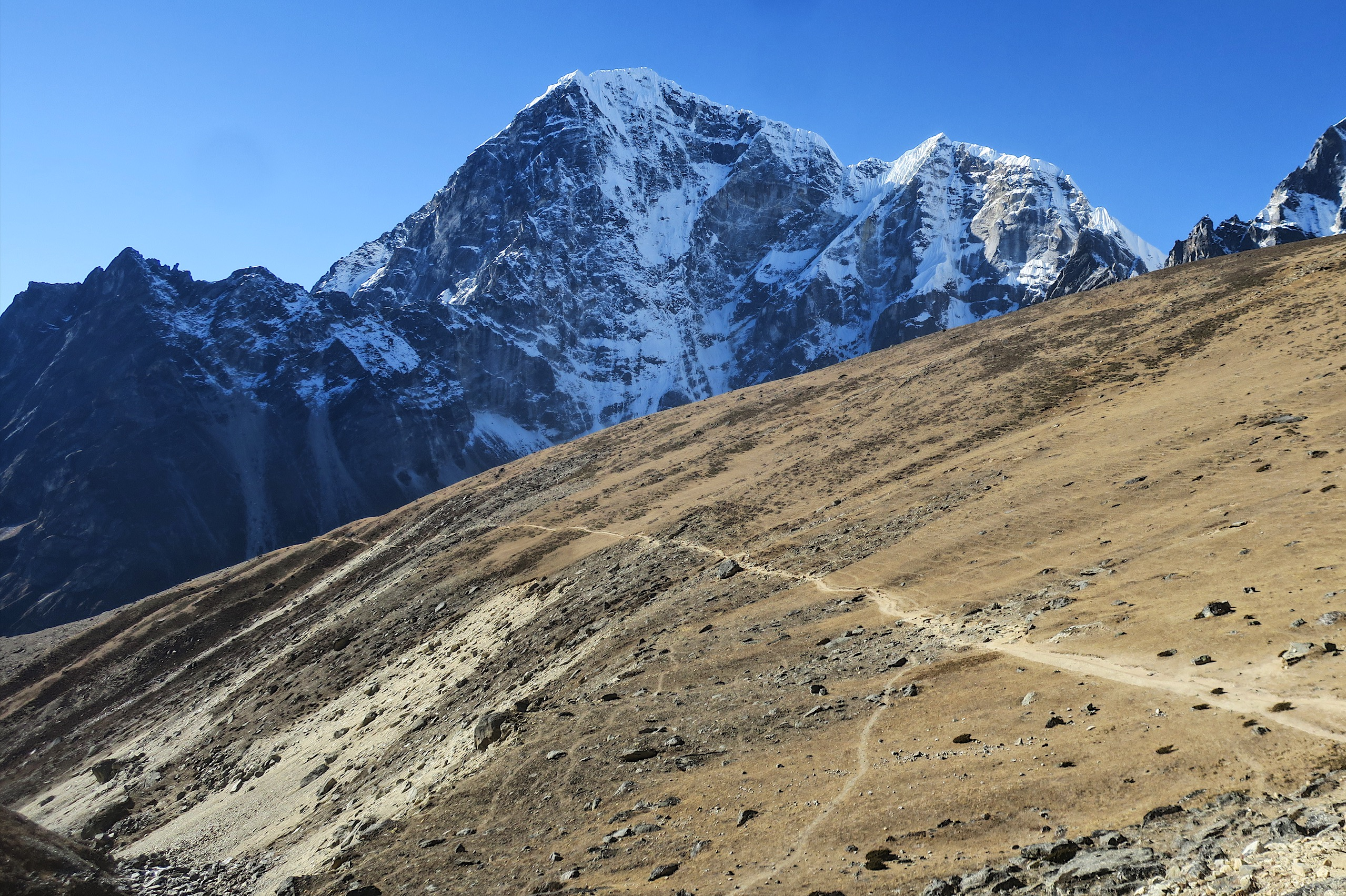 The Khumbu region consistently has some of the most incredible and scenic trails I've ever hiked on.