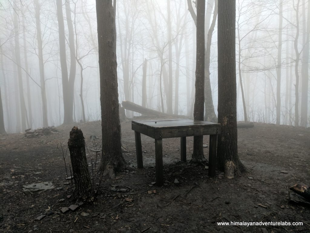 Care to picnic in the fog?
