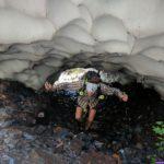 Under a Snow Bridge - McClellan Butte