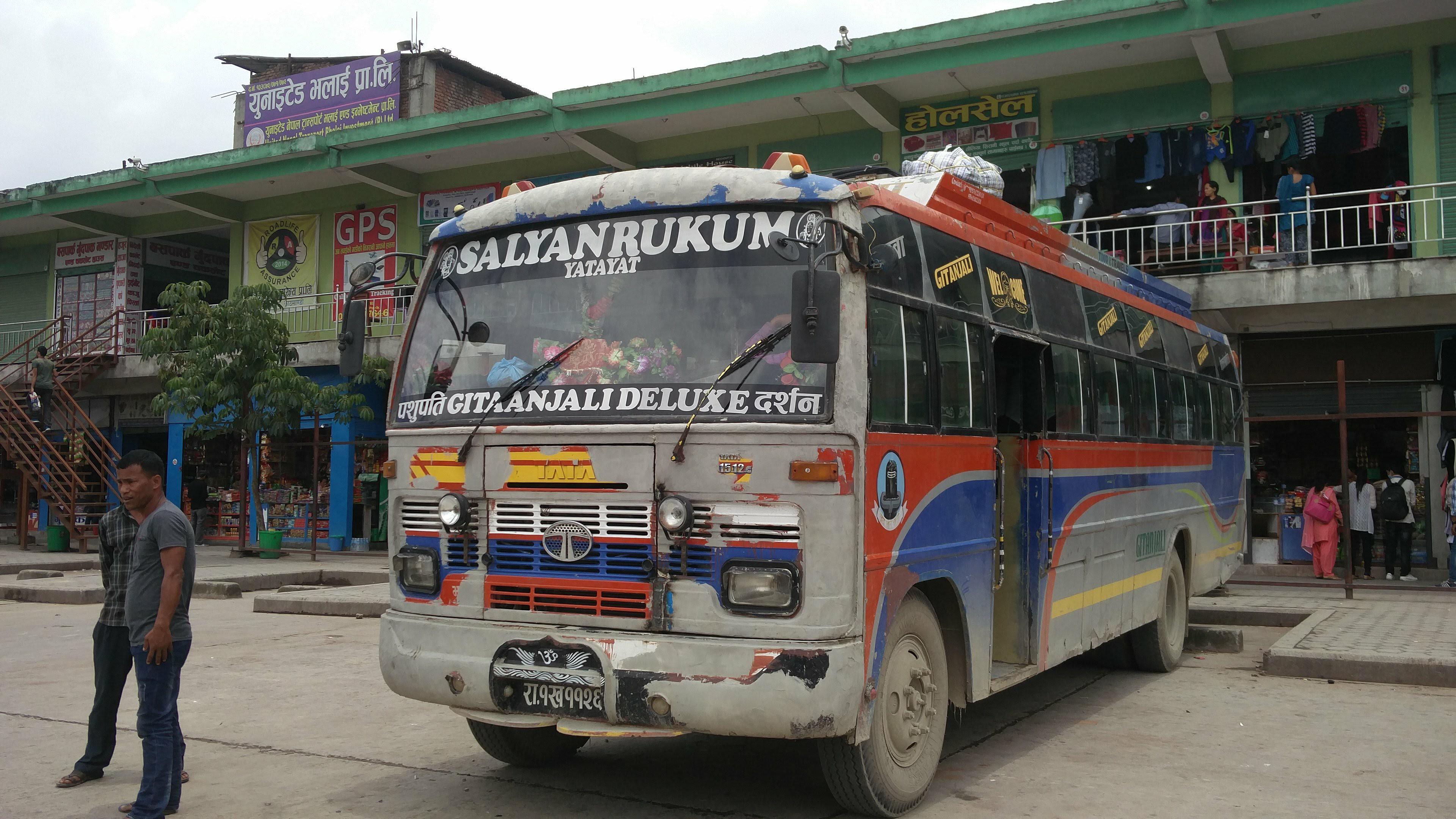 overnight bus from Dolpa to Rukum